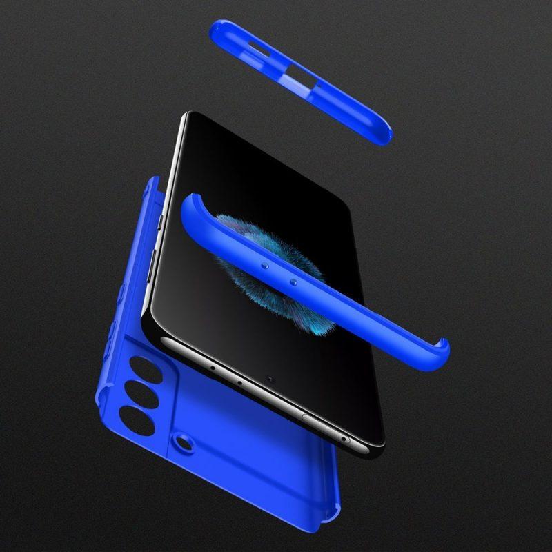Ochranný kryt na Samsung Galaxy S21 Modrý