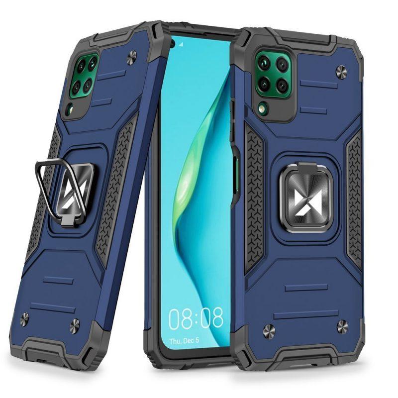 Odolný Armor kryt na Huawei P40 Lite Modrý