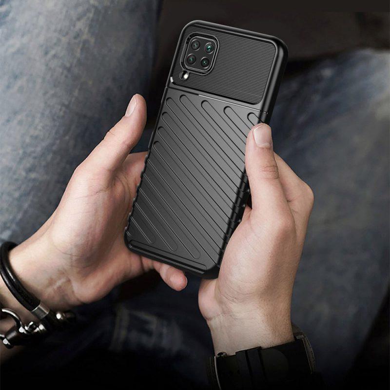 Odolný flexibilný kryt na Huawei P40 Lite Black