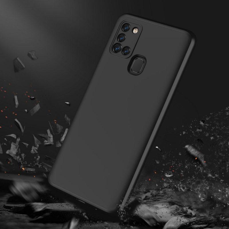 Odolný Full Body kryt na Samsung Galaxy A21S Čierny
