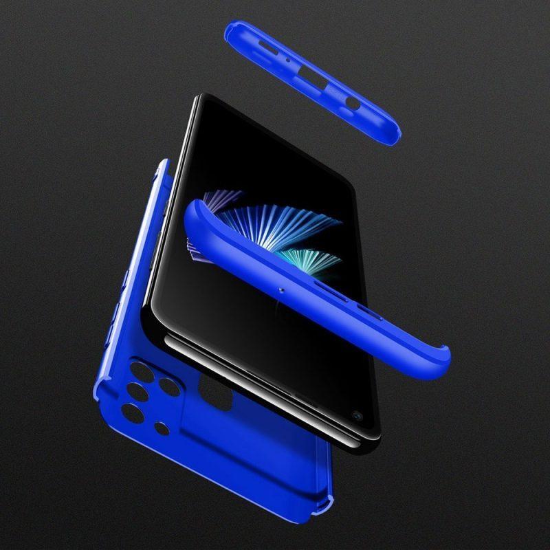 Odolný Full Body kryt na Samsung Galaxy A21S Modrý
