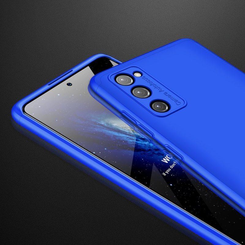Odolný Full Body kryt na Samsung Galaxy S20 FE Modrý