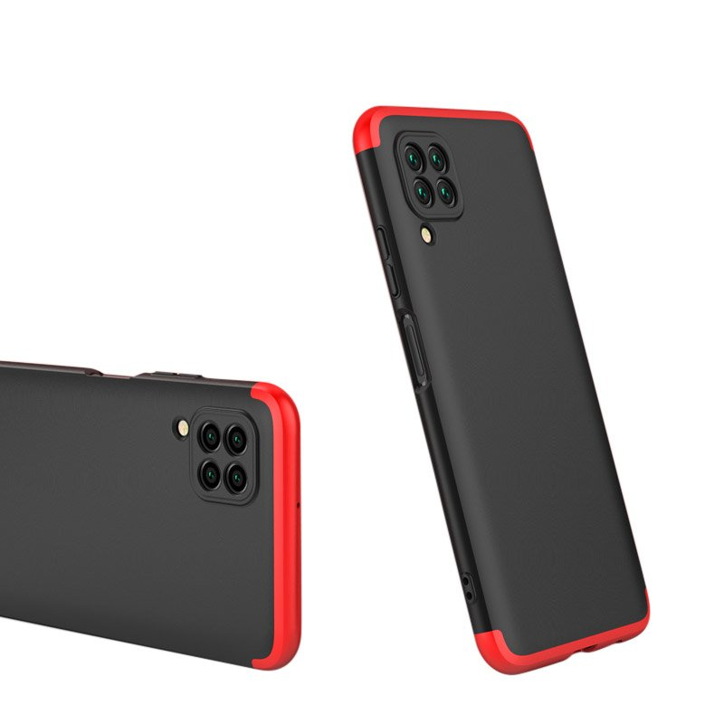 Odolný Full Body kryt na Huawei P40 Lite Black Red