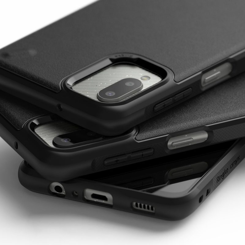 Onyx Durable kryt na Samsung Galaxy A12 Čierny