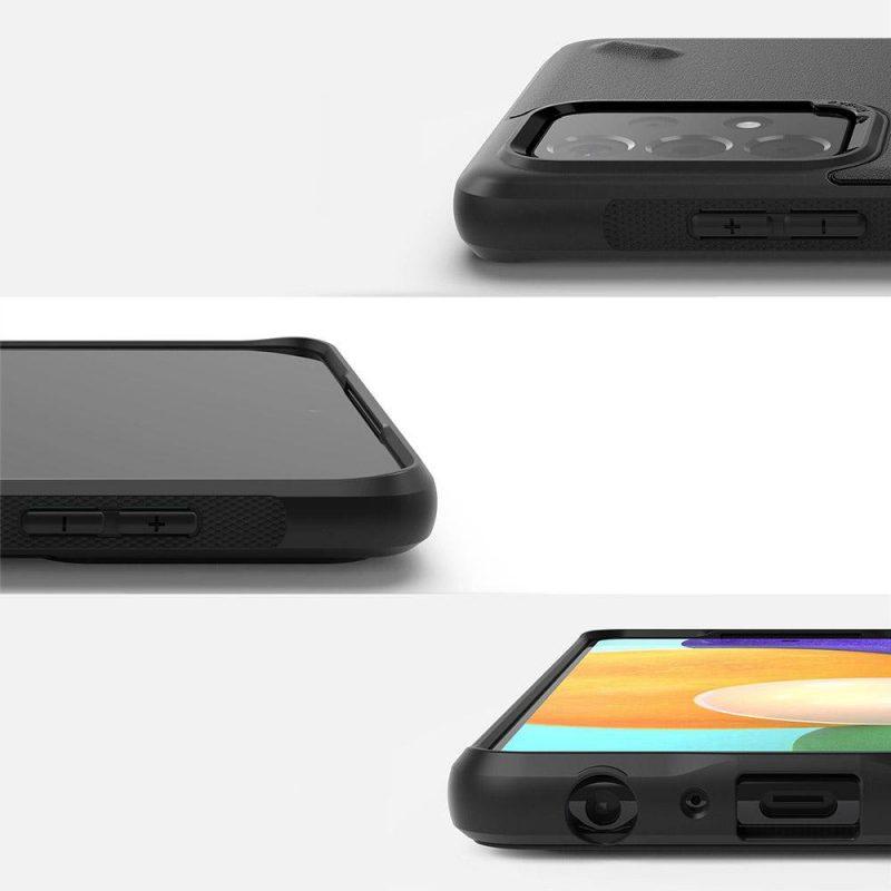 Onyx Durable kryt na Samsung Galaxy A52 Čierny