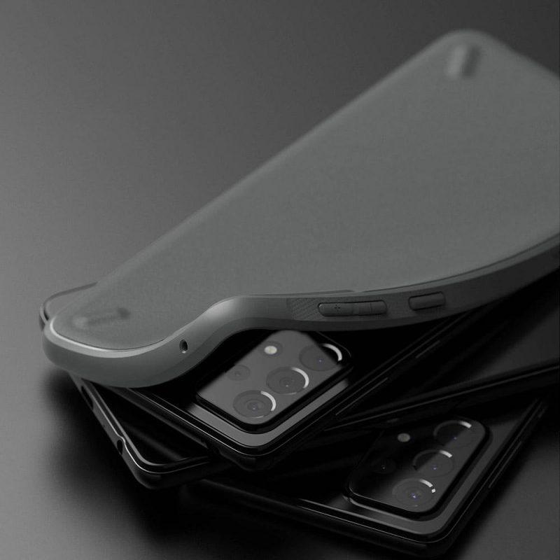Onyx Durable kryt na Samsung Galaxy A52 Sivý