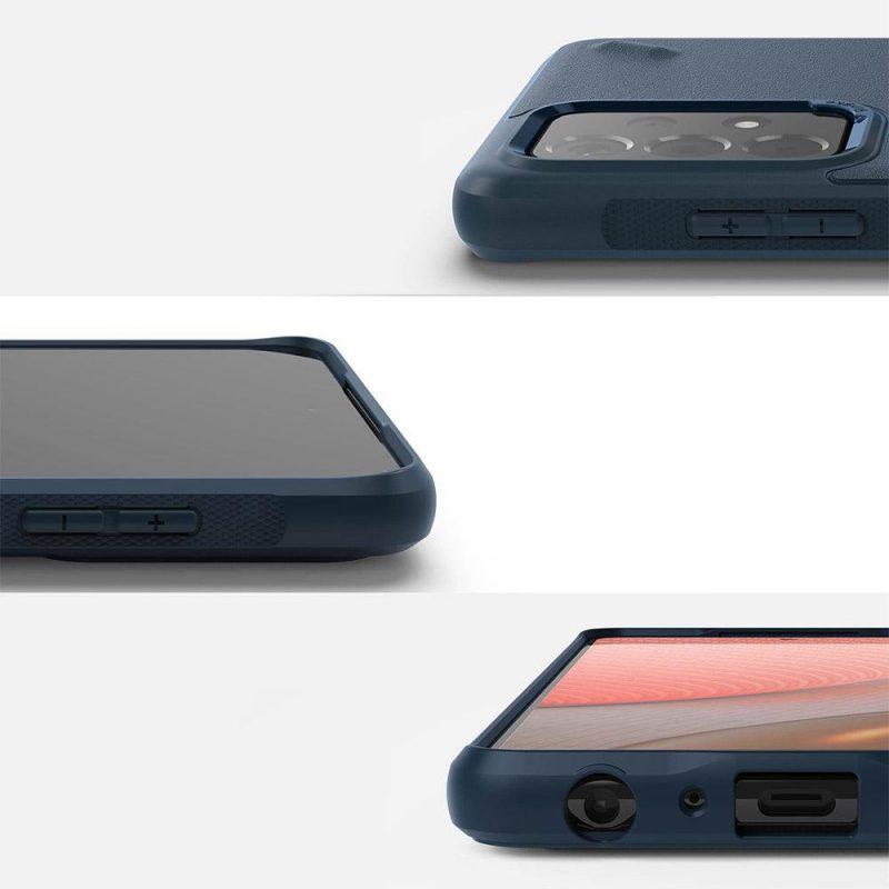 Onyx Durable kryt na Samsung Galaxy A72 Modrý