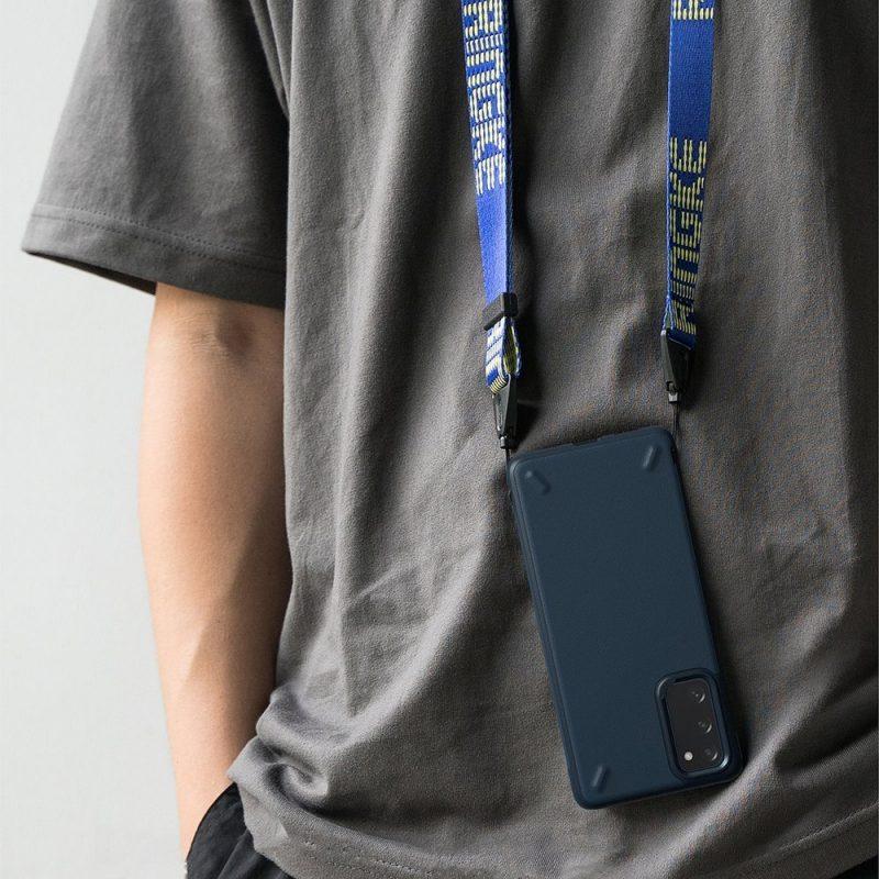 Onyx Durable kryt na Samsung Galaxy S20 FE Blue