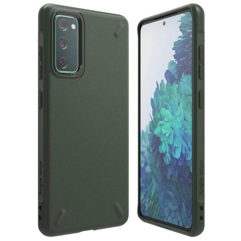 Onyx Durable kryt na Samsung Galaxy S20 FE Green