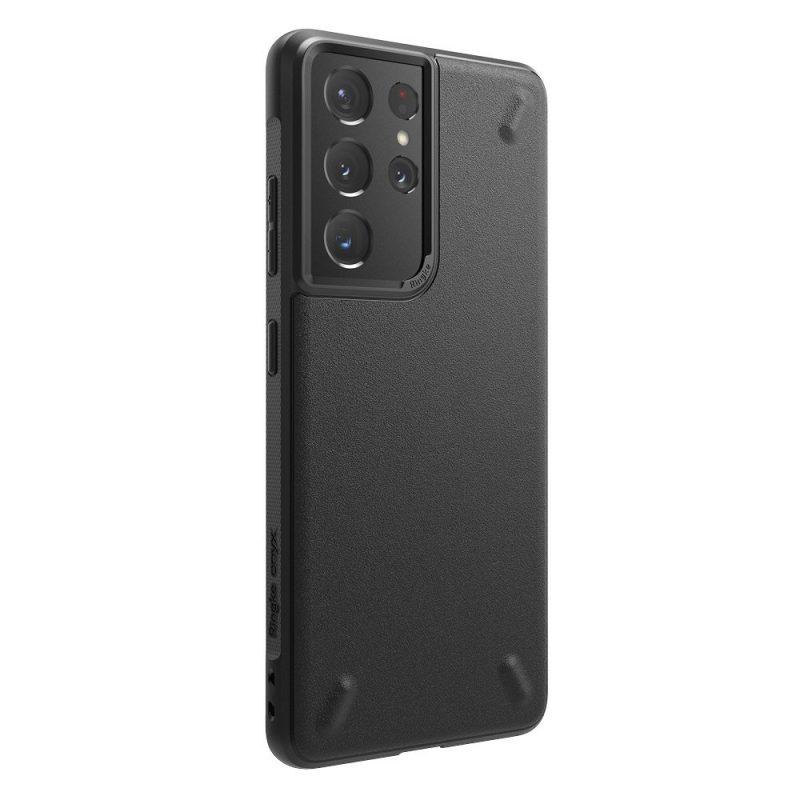 Onyx Durable kryt na Samsung Galaxy S21 Ultra Čierny