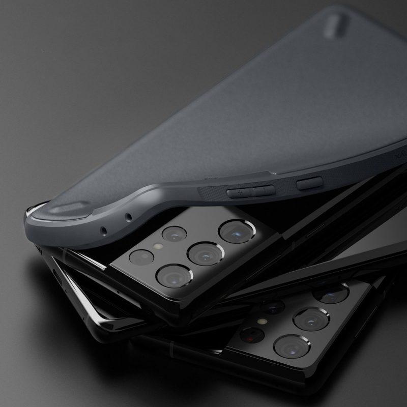 Onyx Durable kryt na Samsung Galaxy S21 Ultra Grey