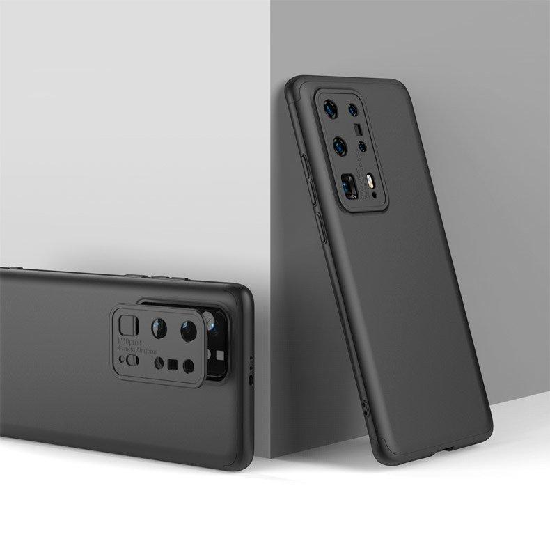 Plastový kryt na Huawei P40 Pro 360° Čierny