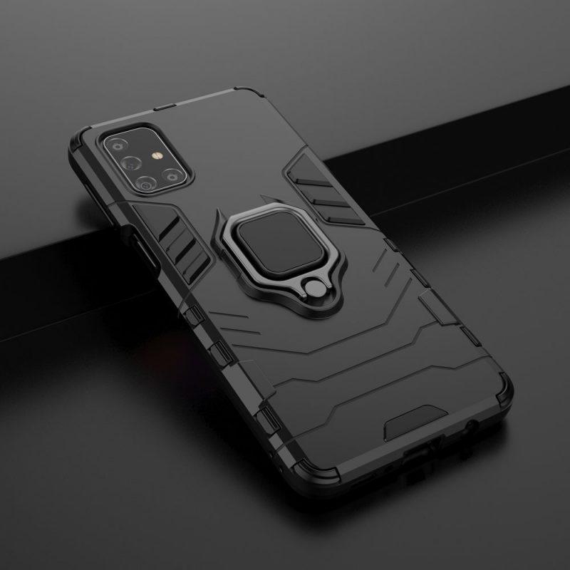 Ring Armor kryt na Samsung Galaxy M31s Black