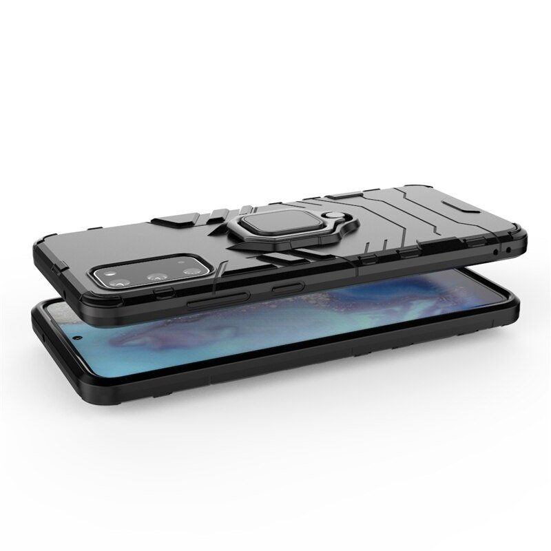 Ring Armor kryt na Samsung Galaxy S20 Ultra Čierny