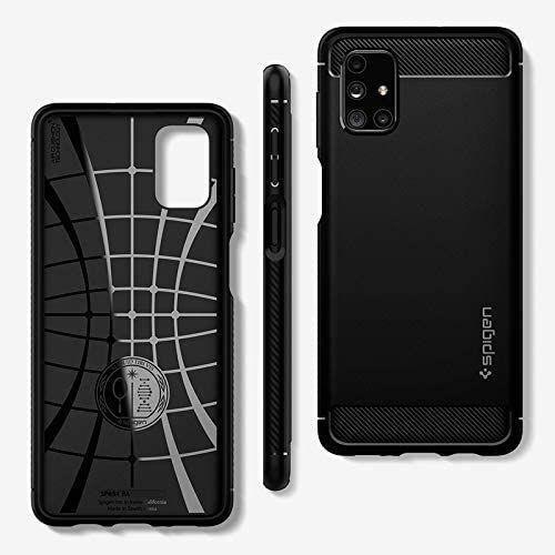 Rugged Armor kryt na Samsung Galaxy M51 Matte Black