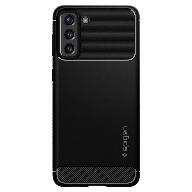Rugged Armor kryt na Samsung Galaxy S21 Plus Matte Black