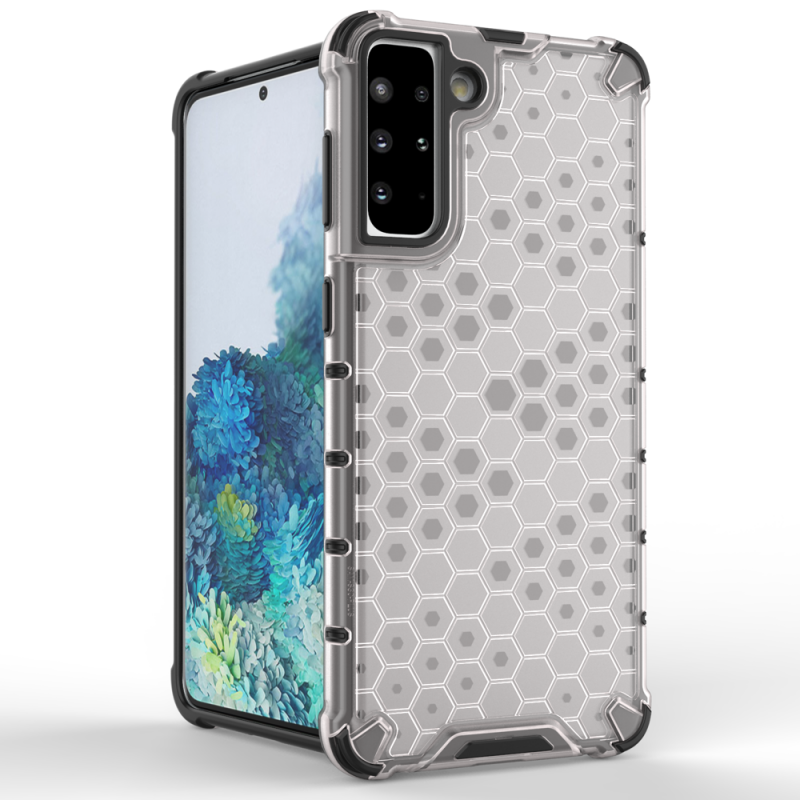 Kryt na Samsung Galaxy S21 Plus Honeycomb Armor Transparent