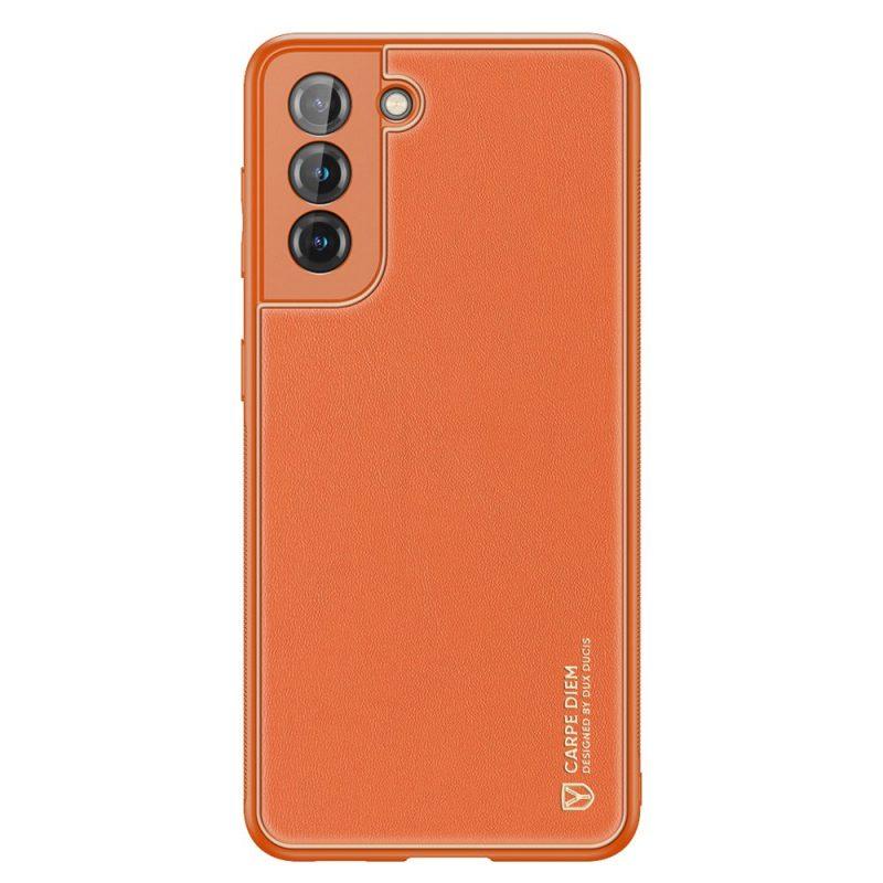 Kryt na Samsung Galaxy S21 Plus Oranžový