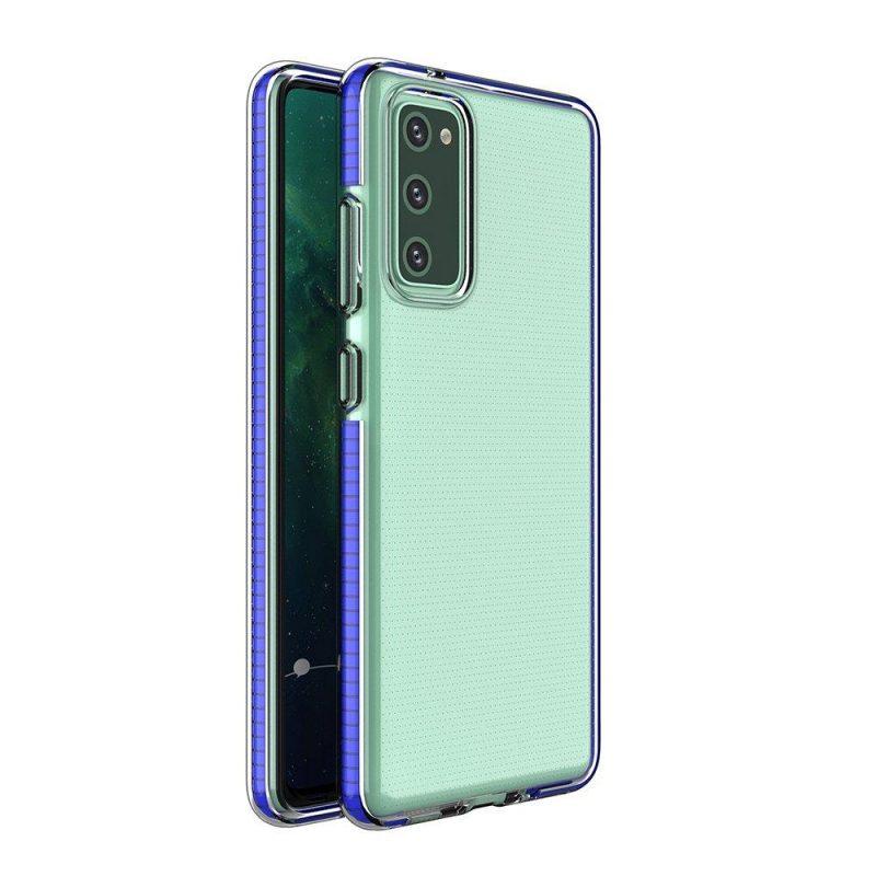 Kryt na Samsung Galaxy S21 s Modrým rámom