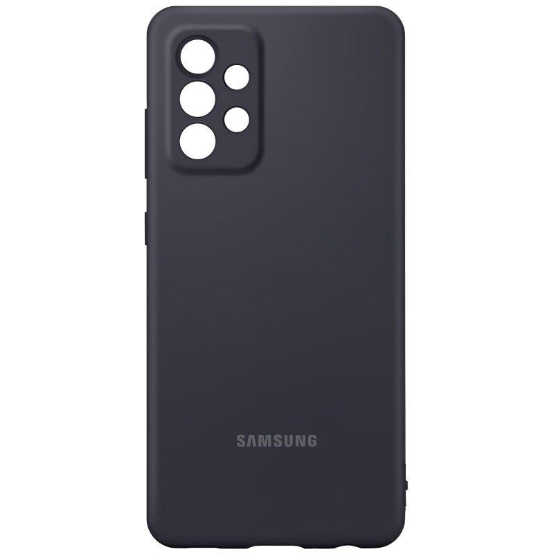 Samsung Silikónový kryt na Samsung Galaxy A72 Čierny