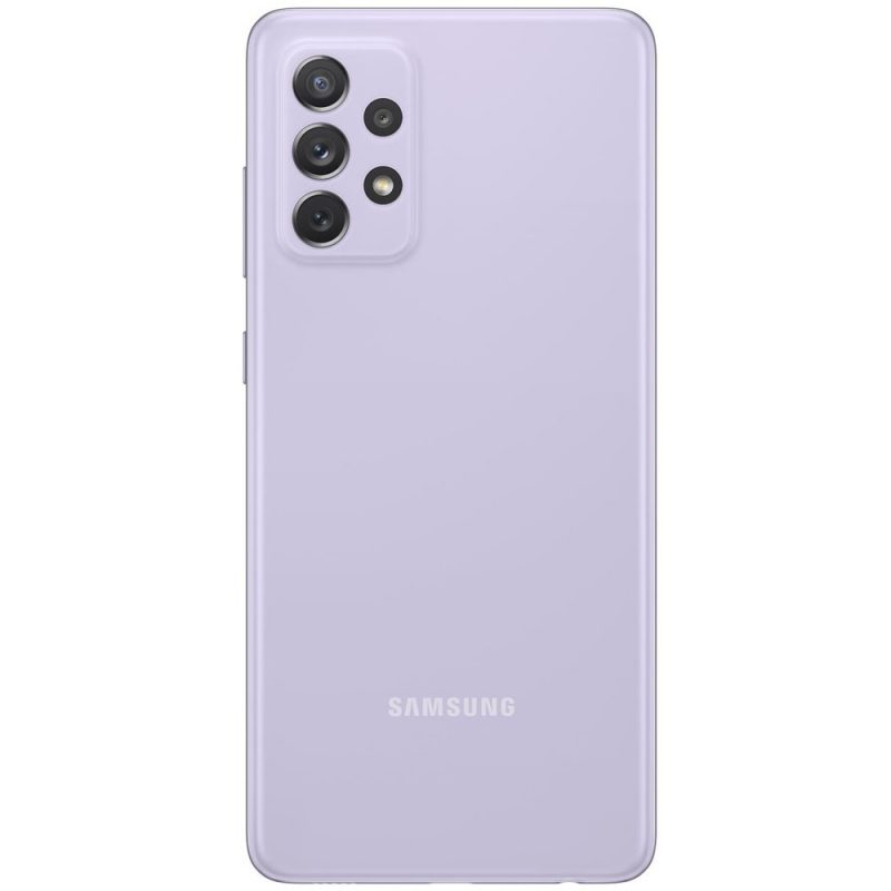 Samsung Silikónový kryt na Samsung Galaxy A72 Fialový