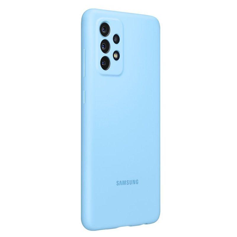 Samsung Silikónový kryt na Samsung Galaxy A72 Modrý