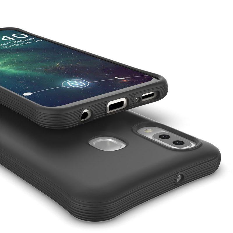 Silikónový Kryt na Samsung Galaxy A20e Čierny