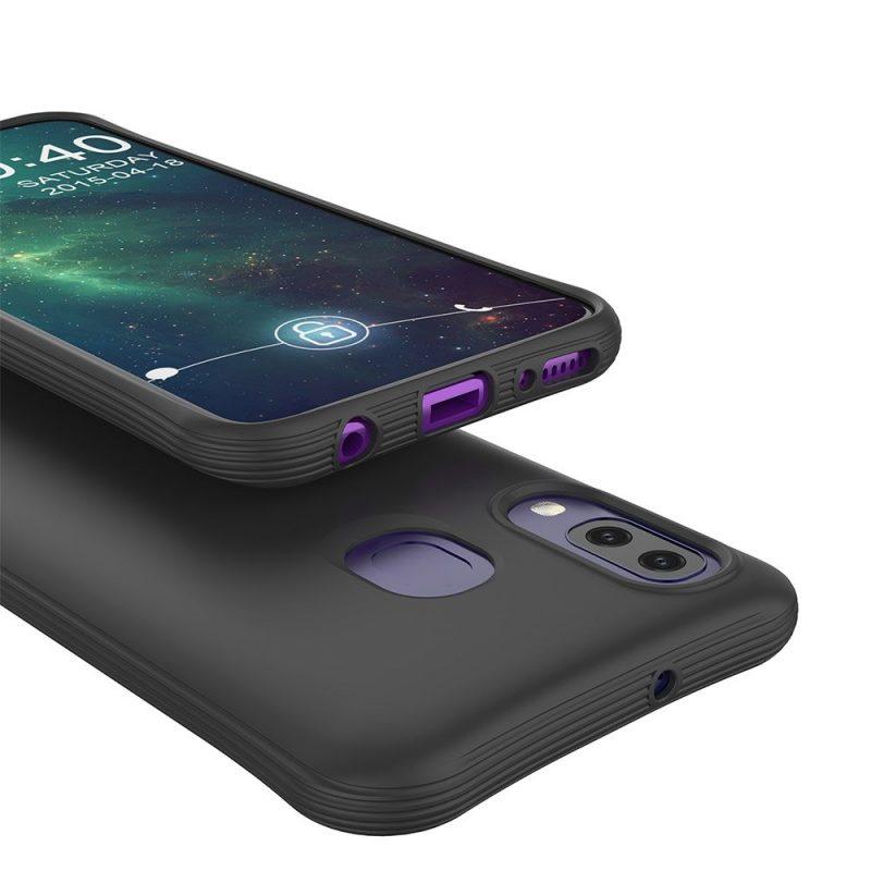 Silikónový kryt na Samsung Galaxy A40 Čierny