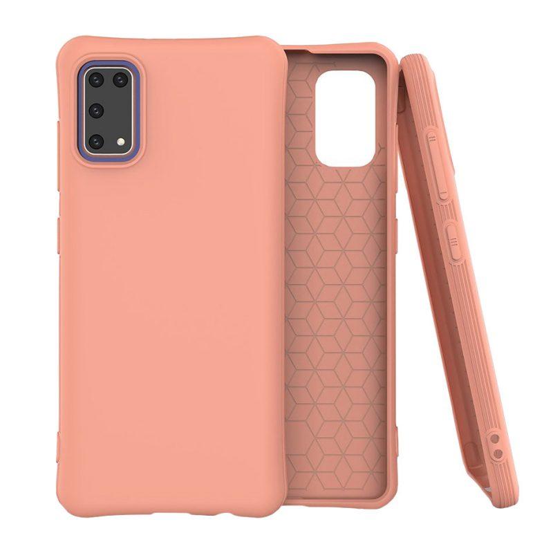 Silikónový kryt na Samsung Galaxy A41 Orange
