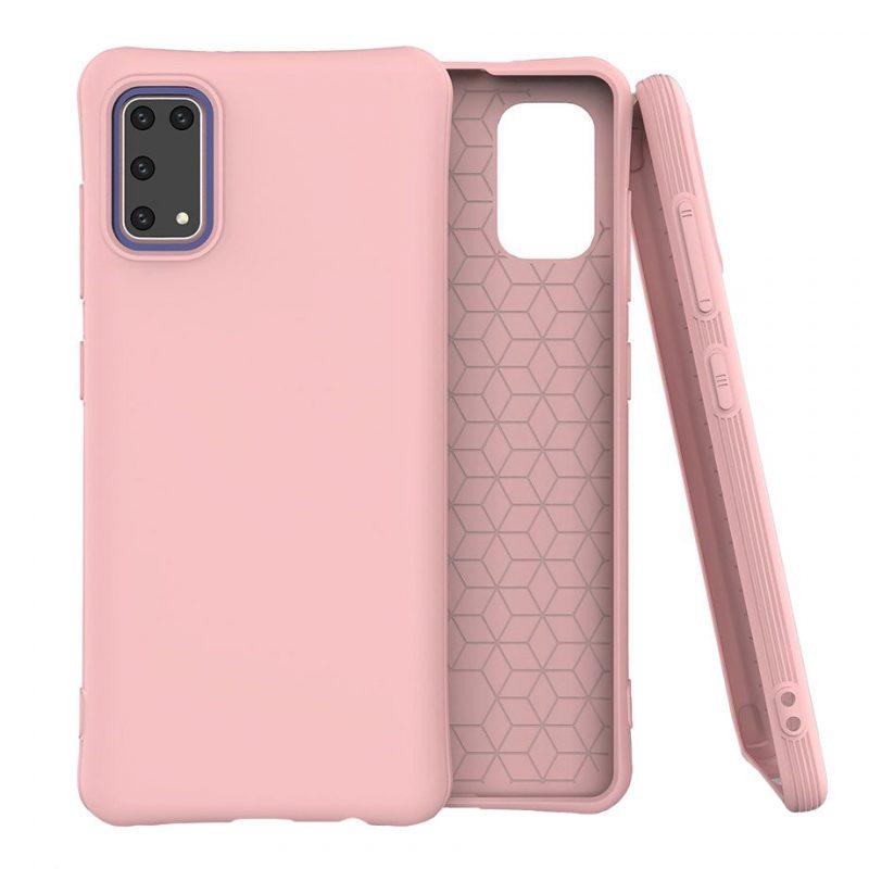 Silikónový kryt na Samsung Galaxy A41 Pink