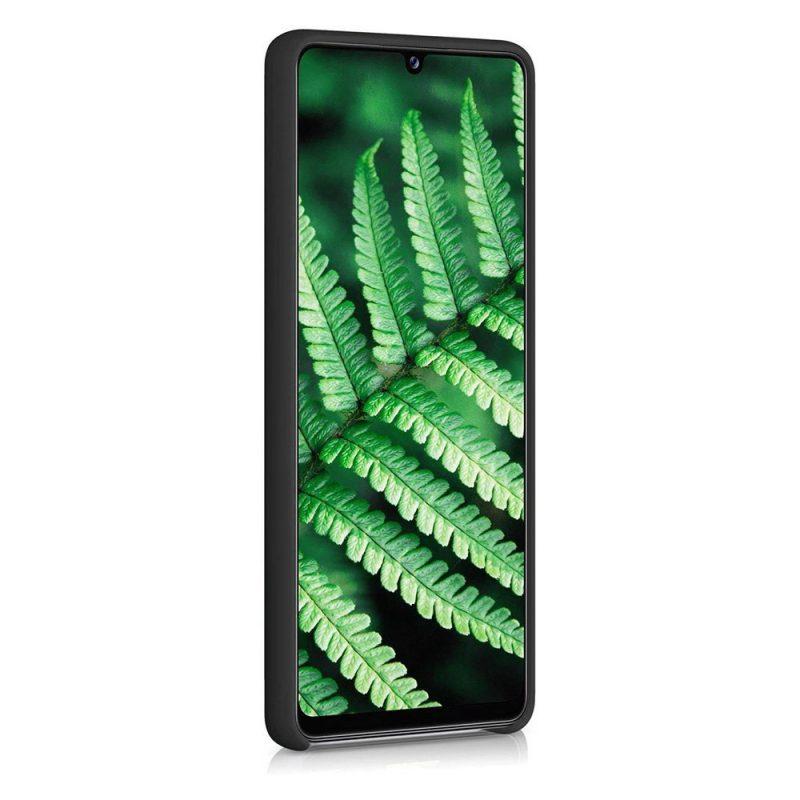 Silikónový kryt na Samsung Galaxy A42 Čierny