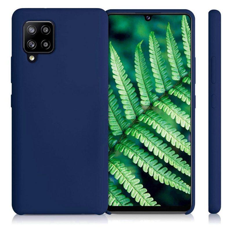 Silikónový kryt na Samsung Galaxy A42 Modrý