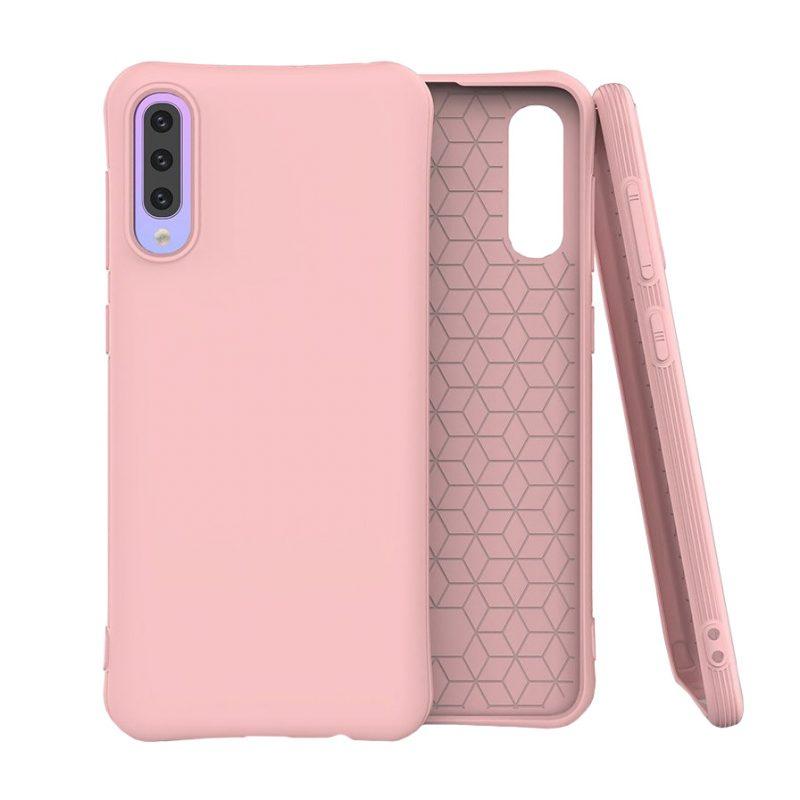 Silikónový kryt na Samsung Galaxy A50 Ružový