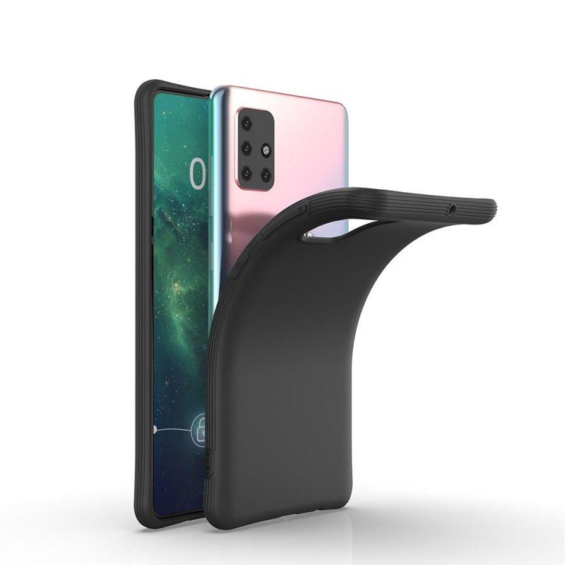 Silikónový kryt na Samsung Galaxy M31s Čierny