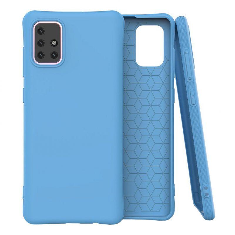 Silikónový kryt na Samsung Galaxy M31s Modrý