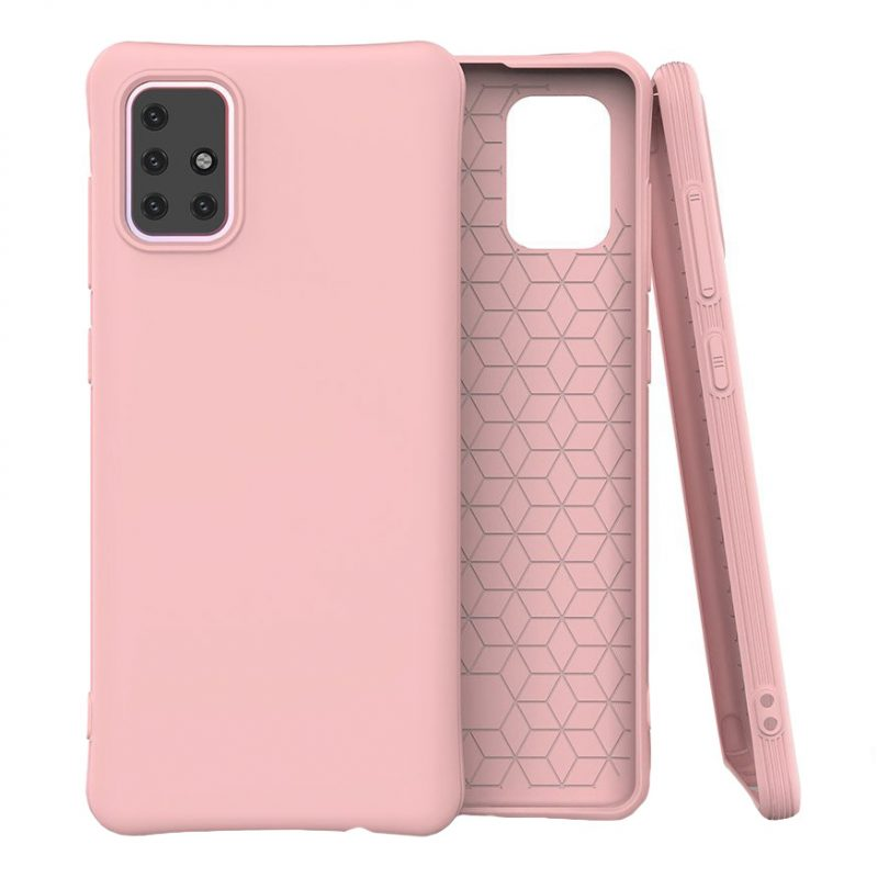Silikónový kryt na Samsung Galaxy M31s Ružový