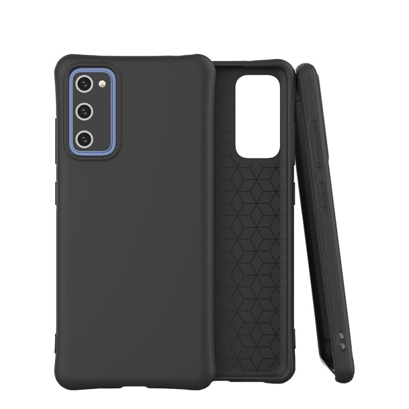 Silikónový kryt na Samsung Galaxy M51 Čierny