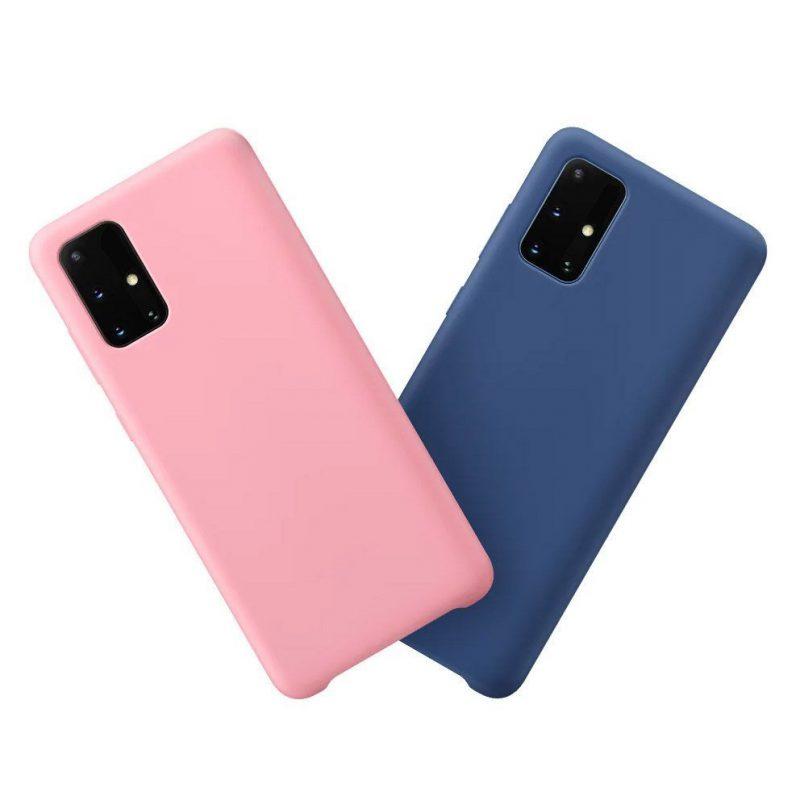 Silikónový kryt na Samsung Galaxy M51 Modrý