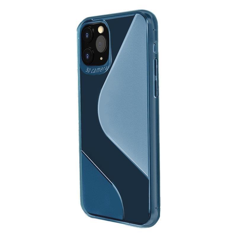Silikónový kryt na Huawei P40 Lite Modrý