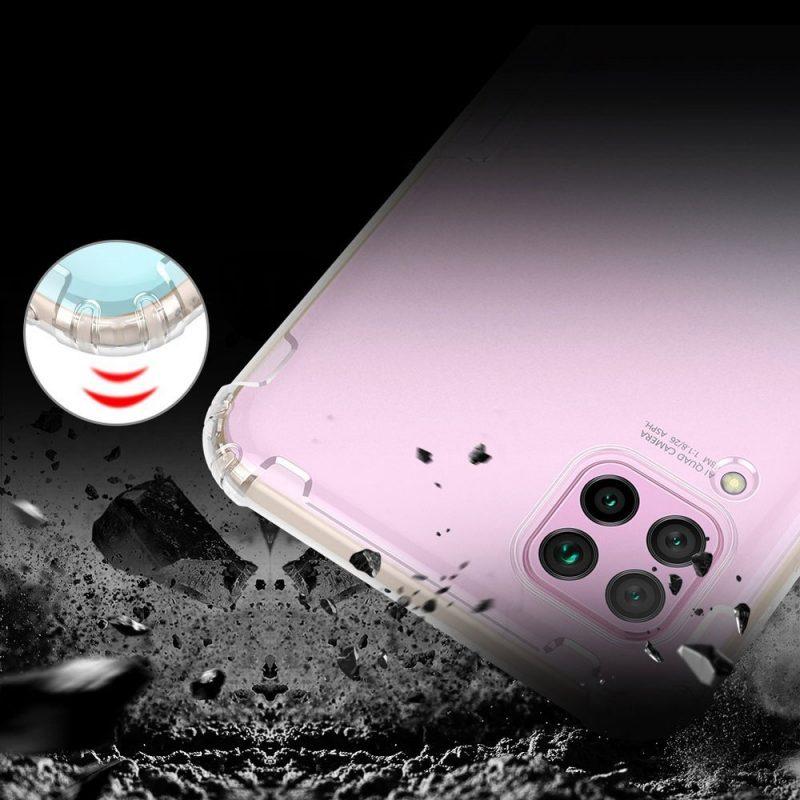 Silikónový kryt na Huawei P40 Lite Priehľadný