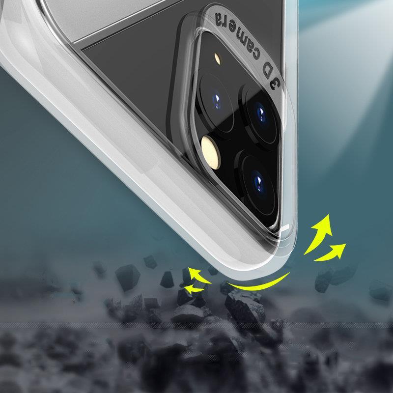 Silikónový kryt na Huawei P40 Lite Transparent