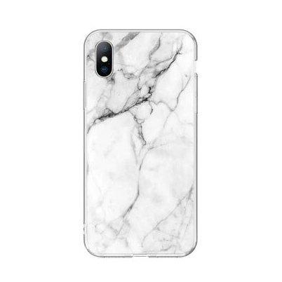 Silikónový kryt na Huawei P40 Lite White Marble