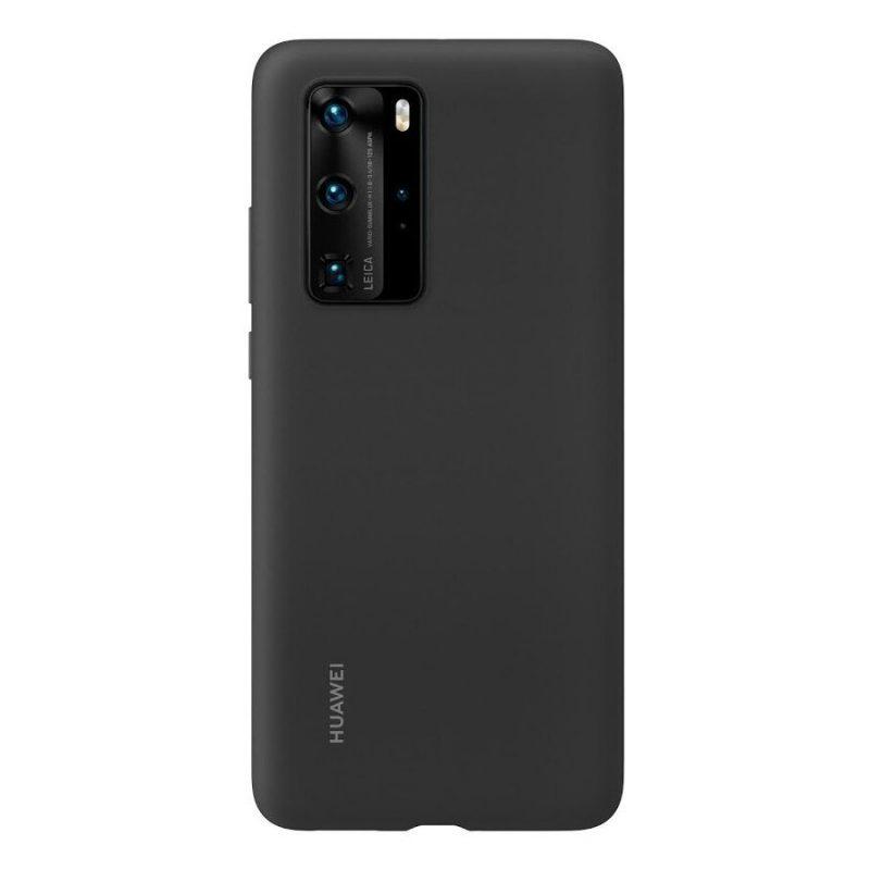 Silikónový kryt na Huawei P40 Pro Čierny