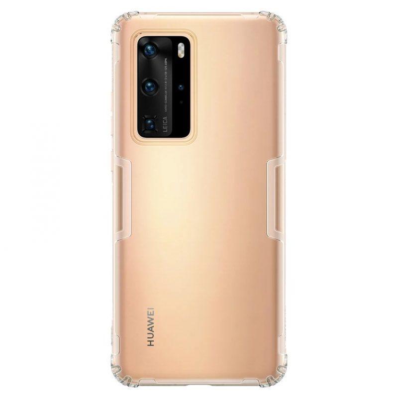 Silikónový kryt na Huawei P40 Pro Transparent