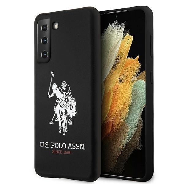 Silikónový kryt na Samsung Galaxy S21 Plus U.S. Polo Čierny