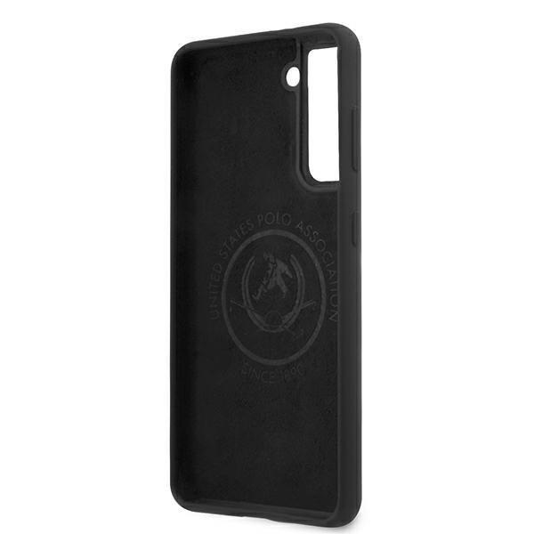 Silikónový kryt na Samsung Galaxy S21 Plus U.S. Polo Black