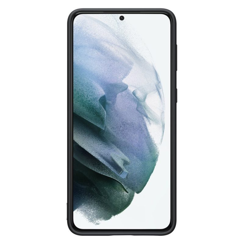 Silikónový kryt na Samsung Galaxy S21 Plus Čierny