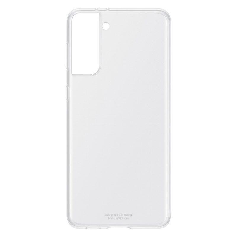 Silikónový kryt na Samsung Galaxy S21 Plus Transparent