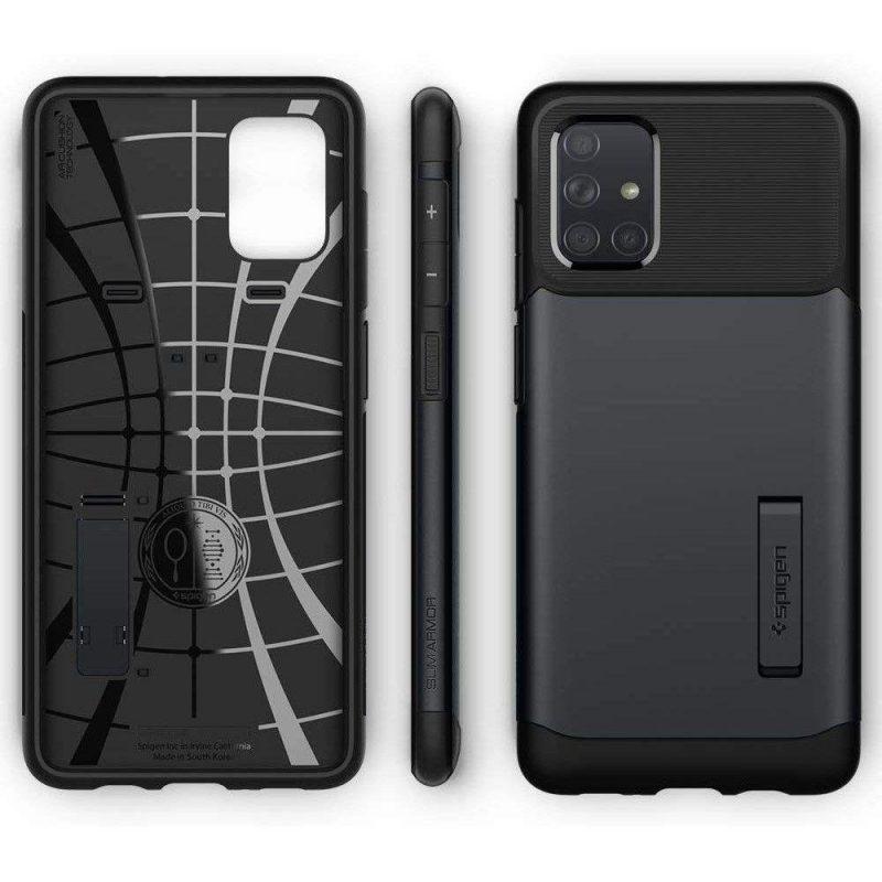 Slim Armor kryt na Samsung Galaxy A51 Metal Slate