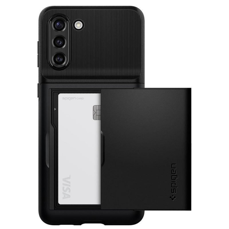 Slim Armor kryt na Samsung Galaxy S21 Plus Black